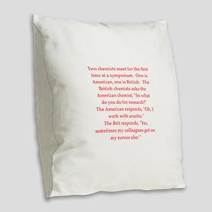 18 Burlap Throw Pillow