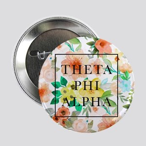 """Theta Phi Alpha Floral FB 2.25"""" Button (10 pack)"""