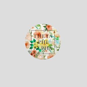 Theta Phi Alpha Floral FB Mini Button