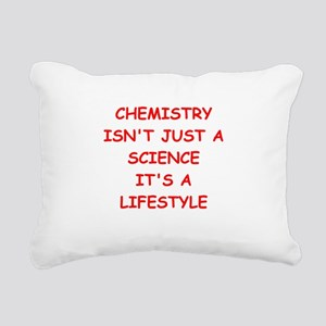 CHEMISTRY Rectangular Canvas Pillow