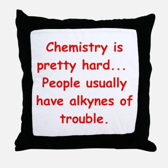 XHEMISTRY3 Throw Pillow