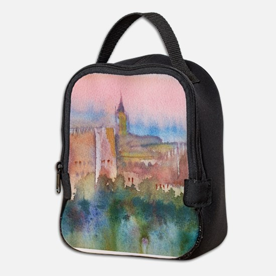 Unique Castles Neoprene Lunch Bag