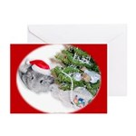 Chinchilla Christmas Cards (Pk of 10)