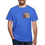 Santa Bag Dark T-Shirt