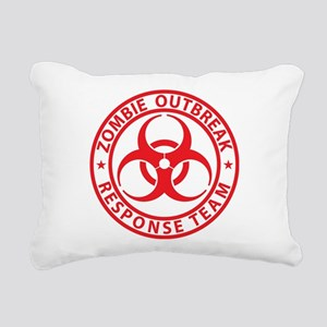 ZORT Rectangular Canvas Pillow