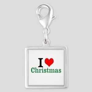 I love Christmas Charms