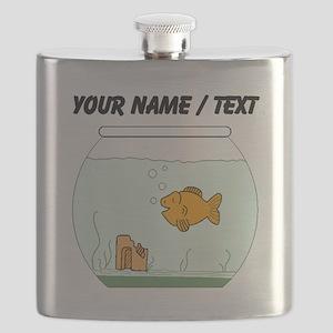 Custom Goldfish Bowl Flask