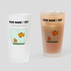 Custom Goldfish Bowl Drinking Glass