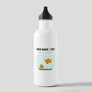 Custom Goldfish Bowl Water Bottle