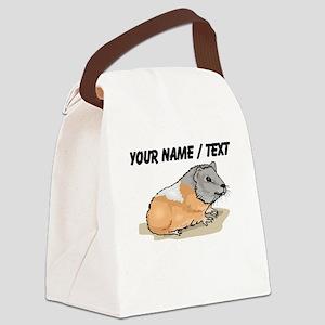 Custom Hamster Canvas Lunch Bag