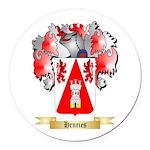 Henries Round Car Magnet
