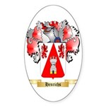 Henrichs Sticker (Oval 50 pk)