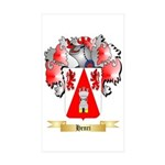 Henri Sticker (Rectangle 50 pk)