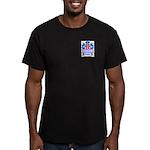 Hennings Men's Fitted T-Shirt (dark)