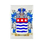 Hennings Rectangle Magnet (100 pack)