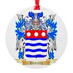 Henning Round Ornament