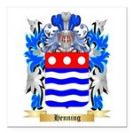 Henning Square Car Magnet 3
