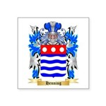 Henning Square Sticker 3