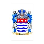 Henning Sticker (Rectangle 10 pk)