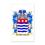 Henning 20x12 Wall Decal