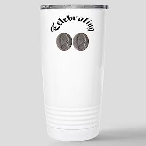 celebratingdoublenickle Travel Mug