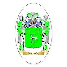 Hennessy Sticker (Oval)