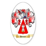Henner Sticker (Oval 50 pk)