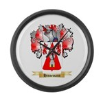 Hennemann Large Wall Clock