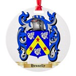 Hennelly Round Ornament