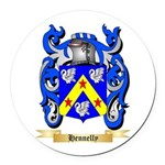 Hennelly Round Car Magnet
