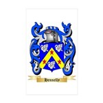 Hennelly Sticker (Rectangle 10 pk)