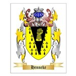 Henneke Small Poster