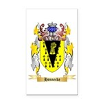 Hennecke Rectangle Car Magnet