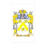 Hennah Sticker (Rectangle 50 pk)