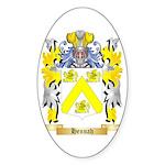 Hennah Sticker (Oval 10 pk)