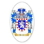 Henly Sticker (Oval 50 pk)