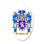 Henly 20x12 Oval Wall Decal