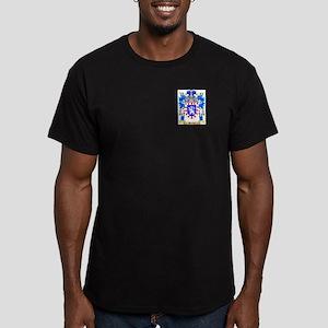 Henley Men's Fitted T-Shirt (dark)