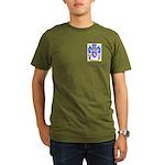 Henley Organic Men's T-Shirt (dark)