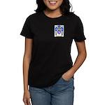 Henley Women's Dark T-Shirt