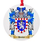 Henley Round Ornament