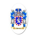 Henley 20x12 Oval Wall Decal