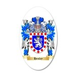 Henley 35x21 Oval Wall Decal