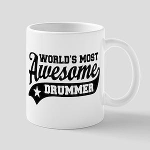 World's Most Awesome Drummer Mug