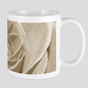 Sepia Rose Mugs