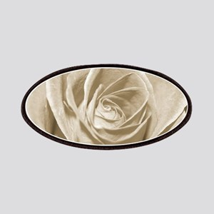 Sepia Rose Patches