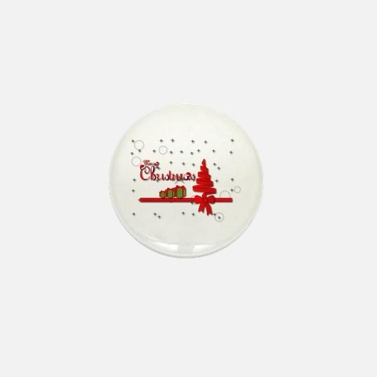 Christmas Balls Mini Button