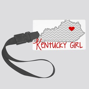KY Girl Luggage Tag