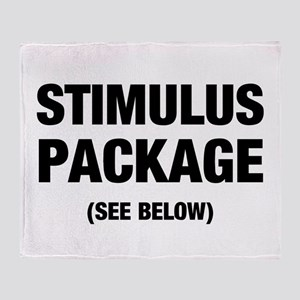 Stimulus Package See Below Throw Blanket