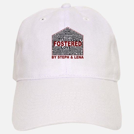 Fostered by Steph and Lena Baseball Baseball Baseball Cap